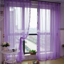 2014 Polyester Fashion Plain Faux Silk Latest Curtain Fashion Designs