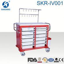 SKR-IV001 ABS surgical instrument nursing trolley