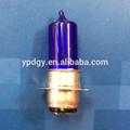 Intérieur de la base p15d-25-1 l'extérieur blanc vert double ampoule halogène en verre