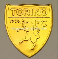 2014 high quality custom name badge custom metal nameplate