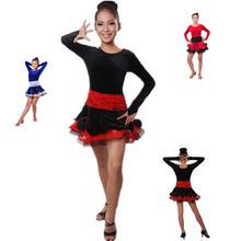 B000021 children's performance costumes girls' latin dance dress