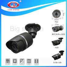 Sony CCD 700tvl CCTV camera waterproof case with 24pcs ir leds Wholesale