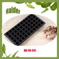 54*28*4.8cm ps de plástico negro 50 agujero de plantas de vivero