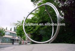 Urban Decoration Stainless Steel Sculpture Feng Shui Products Stainless Steel Sculpture