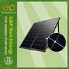 160 watt portable solar power energy certificate by CE/CEC/TUV/ISO