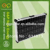 120w folding solar panel kit for camping ,caravan, boat