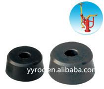 RU plastic rubber bumper component