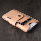 Mini genuine leather case for iphone 5/iphone 6, Leather Phone Cases - Perfect Groomsmen or Bridesmaids Gifts