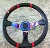 75MM/90MM deep dish 14inch/350MM TRD steering wheel