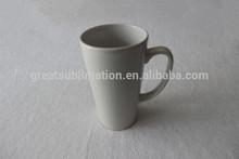 16oz latte coffee mugs with printable coating