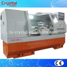 3 gears with one handle homemade universal cnc turning lathe machine CJK6150B-2