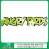 Letter angry birds heat press sticker