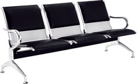 waiting room metal steel 3 seater airport chair (H303-3P)