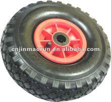 hand trolley rubber wheel 3.00-4