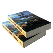 good quality softcover and 157gsm art paper book printing