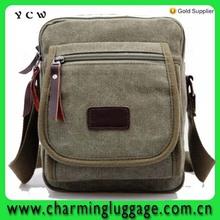Hot sell Men's Casual Canvas Shoulder Bag