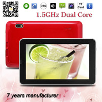 OEM tablet factoty 7 inch android 4.4 2G phone call mid with wifi zxs-A13-2G