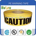 Pvc cinta de la precaución / negro y amarillo cinta / undeground meh cinta protectora
