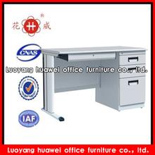 home use single pedestal desk with center desk