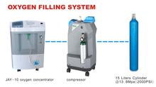 Bombola di ossigeno portatile/portatile ossigeno di riempimento impianto/ossigeno pompa di riempimento