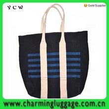 blue women Weekend tote Bag big canvas beach bag