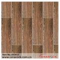 Dark brown ceramic floor tiles, second choice for wooden tiles