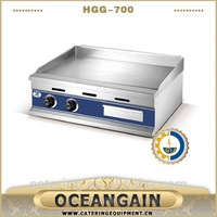 induction flat gas grill for restaurant