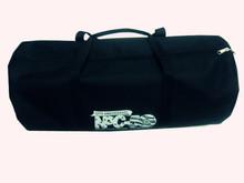 China Alibaba Wholesale 600D+Jacquard Plain Black Big Foldable Sport Travel Bags