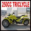 Wholesale new yellow 3 wheel cheap 250cc trike