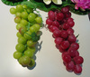 Plastic Grape 2014 popular cheap hot selling artificial styrofoam fruit cluster