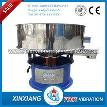 China professional single deck ceramic slurry vibrating screening machine