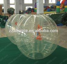 2014 bumper ball adults race game high quality for TPU ball