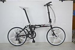 Portable mini folding bike 22 inch foldable girl bike