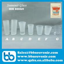Glass Crafts,shot glass, souvenir glass mug