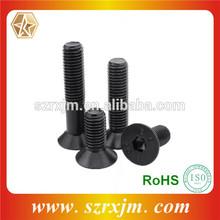 High Strength Black Din 7991 Hex Socket Flat Head Bolt