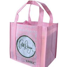 polypropylene foldable recycle customized 6 non woven wine bottle tote bag