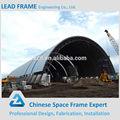 Pré-fabricada de aço estrutural armação de telhado galpão para grande extensão de armazenamento barril