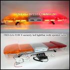 LED Warning lightbar with speaker and siren TBD-GA-910C4