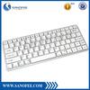 New product wholesale mini bluetooth keyboard, Slim laptop keyboard for iPad Mini