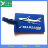 wholesale Id Clear Plastic rubber airline Luggage Tags