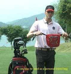Helix Promotional low price Golf ball Bag/3 club golf bag