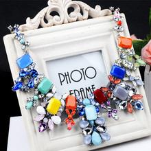Euramerican Delicate Big brand Alloy resin necklace