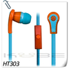 high quality cheap plastic in-ear earphone headphone with 3.5mm plug