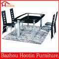2014 modern alta qualidade mobília da sala de jantar mesa de jantar retrátil