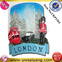 New Polyresin Fridge Magnets 3D London Building Souvenirs Promotion Gift