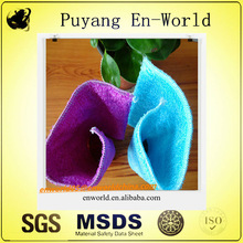 furniture cleaning orange color antibacterial microfiber cleaning cloths/fiber towel/bamboo towels