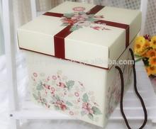 cardboard birthday gift box