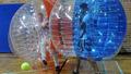 Inflable gorila de salto de la burbuja del fútbol equipo de réplicas inflable / inflable shrek