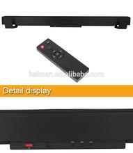Slim Surround Soundbar with 60W Wireless Subwoofer (Black)