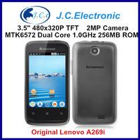 Original Lenovo A269I Dual Core Google Andorid Cell Phone 3.5 Inch Capacitive Screen Singla Camera